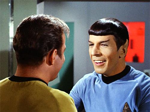 Smiling Spock