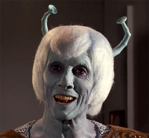The Andorian Shras is freaky.